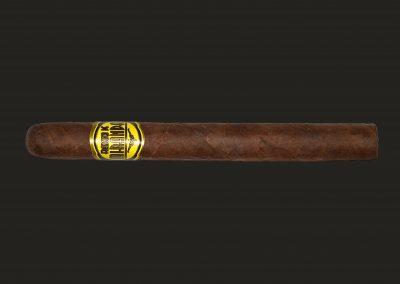 Cigarro Francisco de Miranda, Línea Amarilla, Petit Robusto (102mm – calibre: 50)