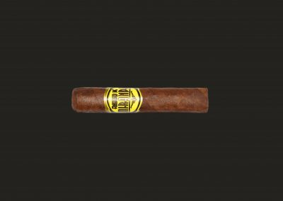Cigarro Francisco de Miranda, Línea Amarilla, Doble Corona (Largo: 185mm – calibre: 50)